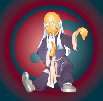Longevity tai chi master