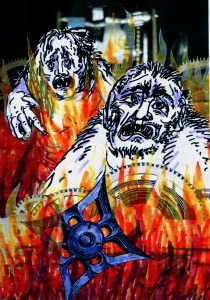 27 morlocks grunts on fire