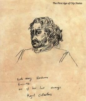 horsham as the battle weary ex hero bacata