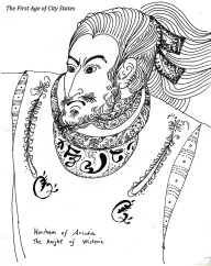 horsham as the dashing knight of the wisteria opera