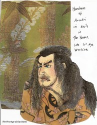 horsham in exile in elvish art