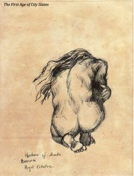 horsham nude kneeling back bacata