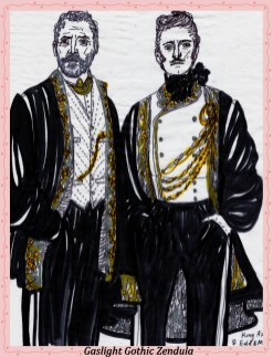 king astel and mayor theri anthrope gaslight gothic