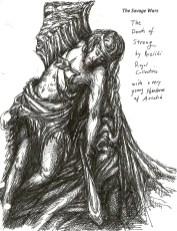prehistoric god streng dying elvish acadian art