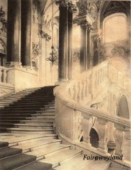 staircase in 1920s daffy movie