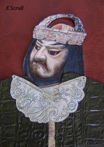 villain king in e scroll