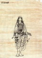 wisteria in e scroll
