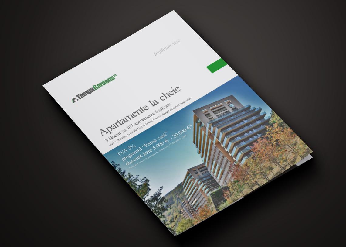 Real Estate Brochure Design Visual Identity
