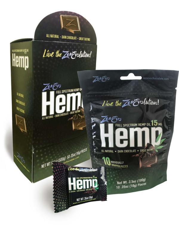 ZenEvo Hemp Dark Chocolate