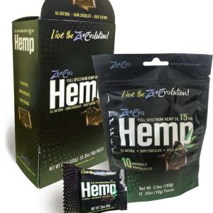 ZenEvo Hemp Dark Chocolate