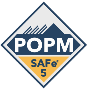 SAFe 5 Course Badges - POPM