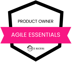 Agile Essentials - PO Badge
