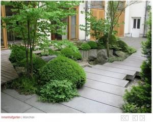 JAPANISCHE GÄRTEN – Innenhof MÜNCHEN – Japanese Inspired Gardens