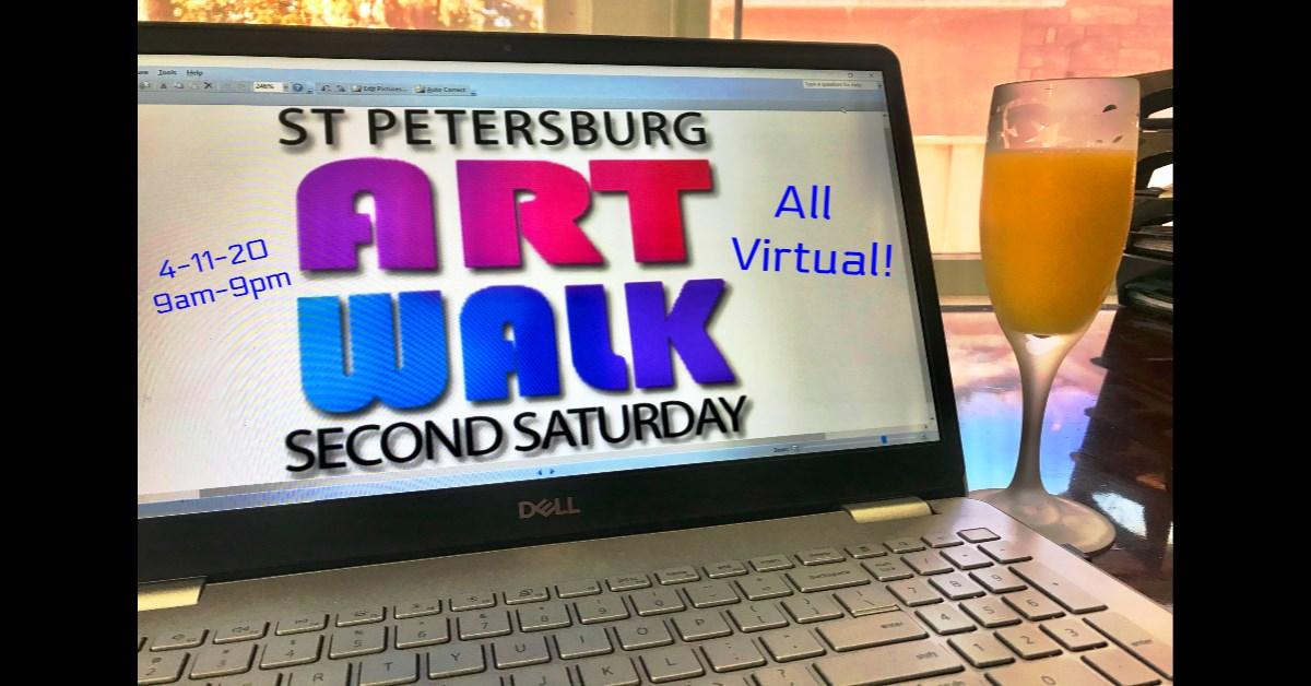 2nd saturday virtual art walk