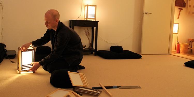 Japanse Lampen Tom van Dijk Groningen Hout Papier Lamp
