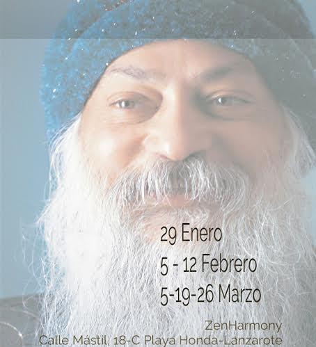 Meditaciones Activas de OSHO en el centro ZENHARMONY - Lanzarote