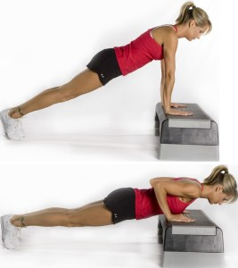 Incline push up