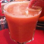 Apple Pear and Strawberry Juice