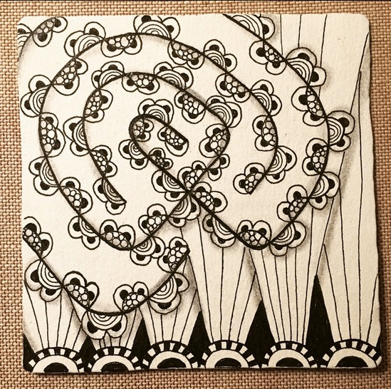 Zentangle Labyrinth