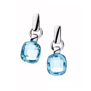 Boucles d'oreilles pierre en verre 4362