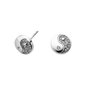 Boucles d'oreilles Yin & Yang 2295 zen-humeur-bien-être