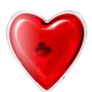 Coeur chauffant pour massage réutilisable
