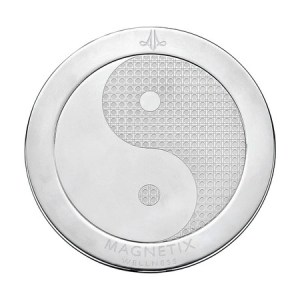 2377 Sous-verre motif Yin & Yang