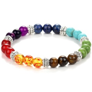 bracelet de yoga 7 chakra