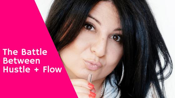 Battle between hustle + flow
