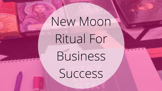 New Moon Intention Setting For Business Planning Goal Setting