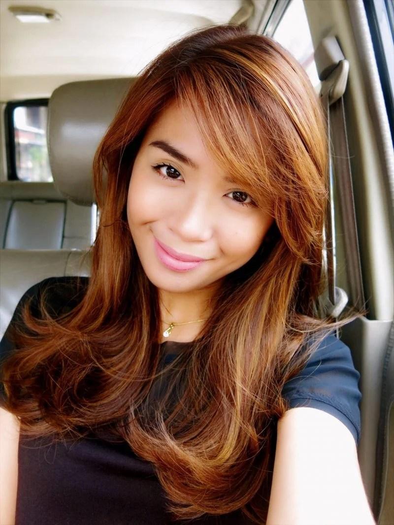 Haarfarbe Braun Mit Kupfer Modische Frisuren Fr Sie