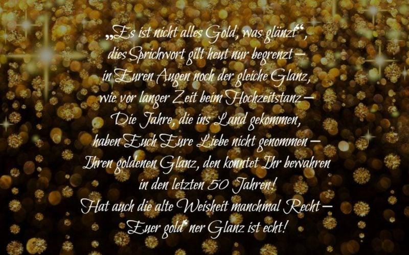 Gratulation Zur Goldenen Hochzeit Sangerbund Ruit 1863 E V