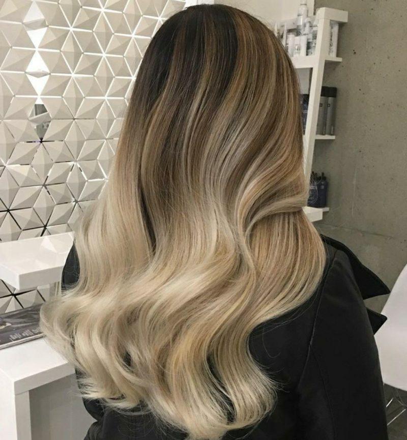 Färben braun haare blond von auf Grünstich entfernen: