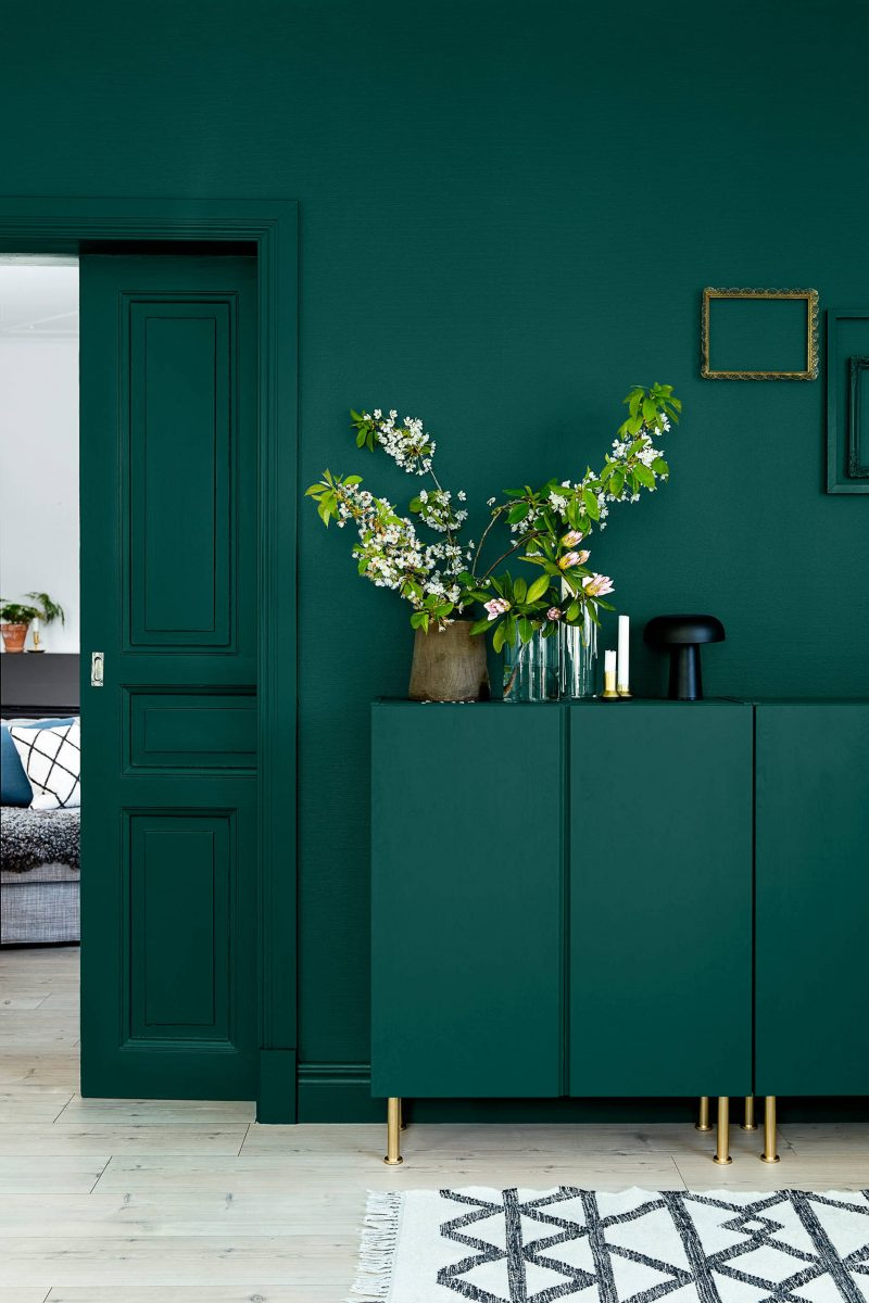 Trend 2018 Fr Wandfabe Petrol Farbe Ist Angesagt