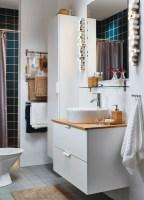 IKEA Badmöbel   voller Funktionalität und Feinheit ...