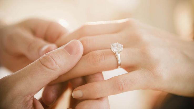 Eine Verlobung Ist Sicherlich Eine Der Romantischsten Momente In