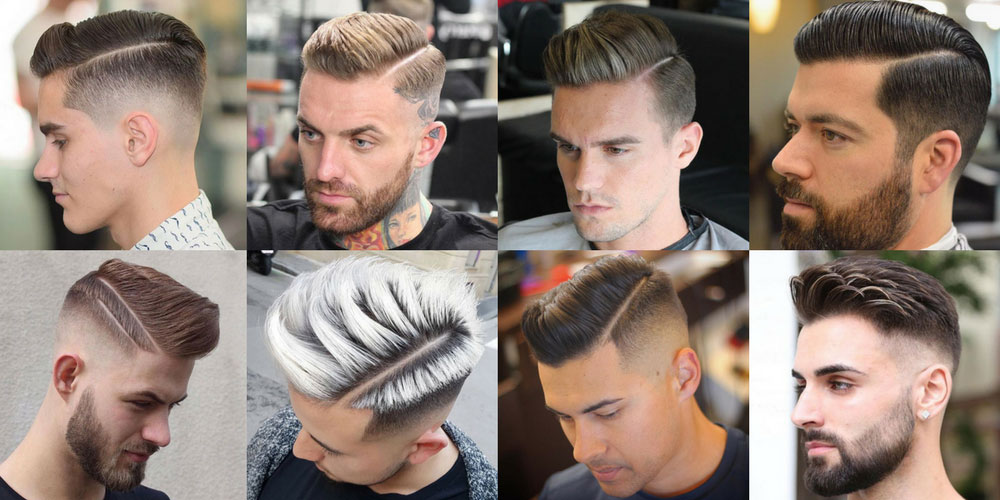 Herren Frisuren Mittellang Scheitel Drawing Apem