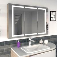 Badezimmer Spiegelschrank moderne Ideen für ein ...