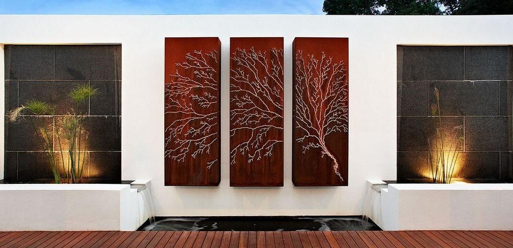 mur exterieur deco jardin