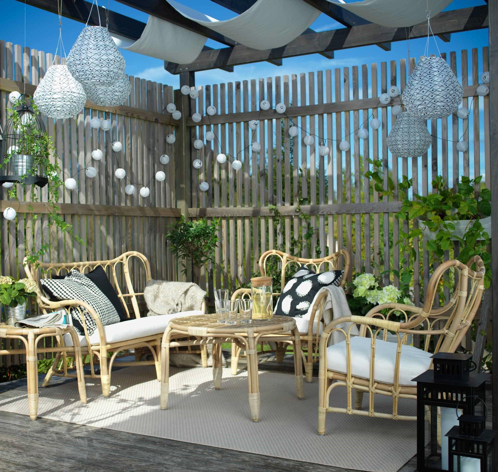 40 idees de salon de jardin ikea