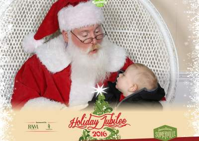 Holiday Jubilee Photos with Santa 2016