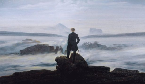 la solitudine secondo Caspar David Friedrich