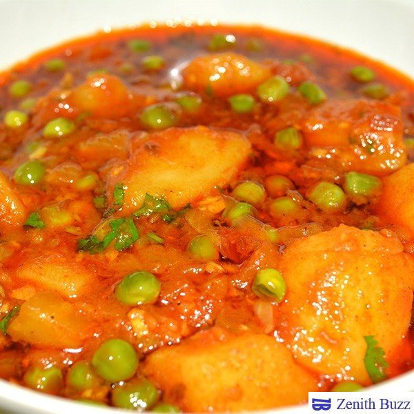 How To Prepare Aloo Mutter Masala Restaurant Style