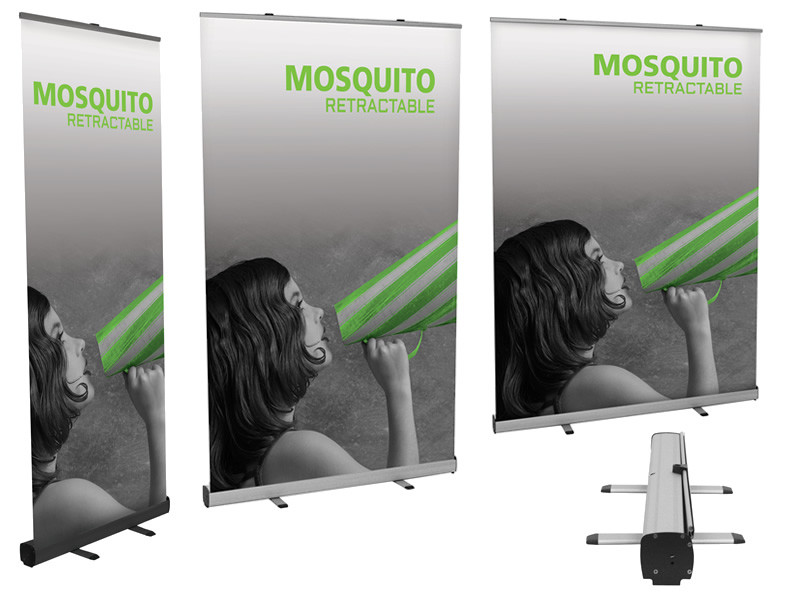 Mosquito-Retractable-Banner-Stand
