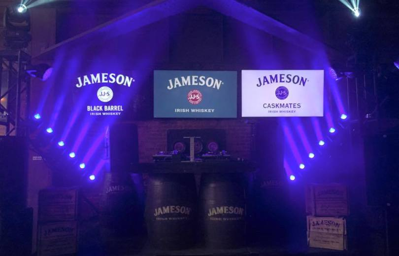 jameson brand activation party