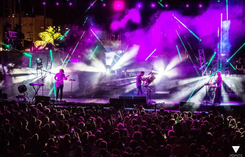 3 points music festival 2016 rental lighting zenith