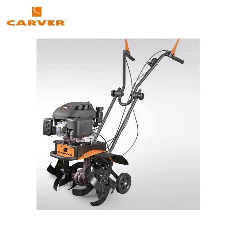 Petrol motor cultivator CARVER T-550R (garden tiller, rotavator) Walk-behind tractor Rotary cultivator Power cultivator