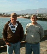 Michael and Stephen in Santa Barbara.