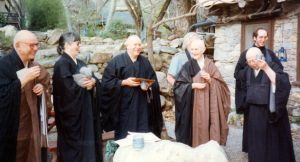 Blanche, Lou and Others, mid 1990s, Tassajara