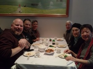 One of Zenkei's favorite things.  Dim Sum with Sangha